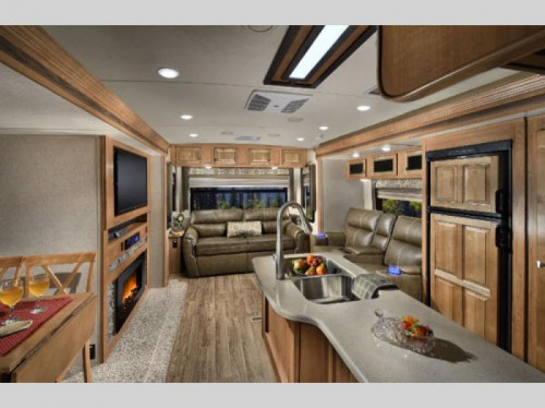 Flagstaff V-Lite Travel Trailer Interior