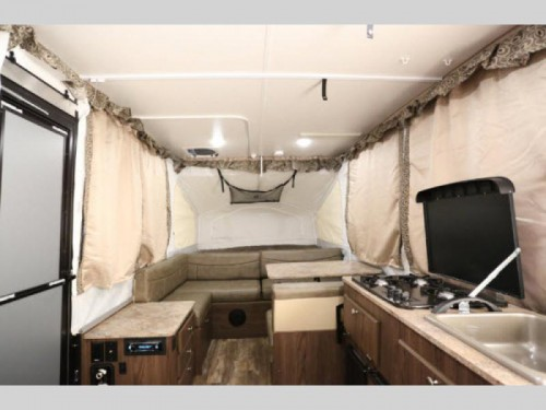Flagstaff SE Pop Up Camper Interior