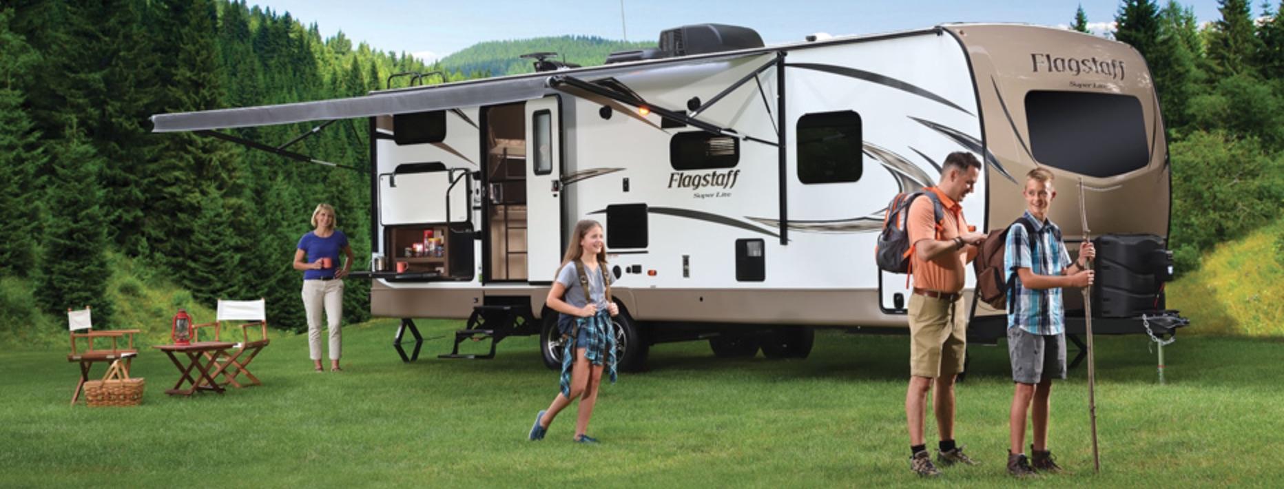 Flagstaff Super Lite Travel Trailer