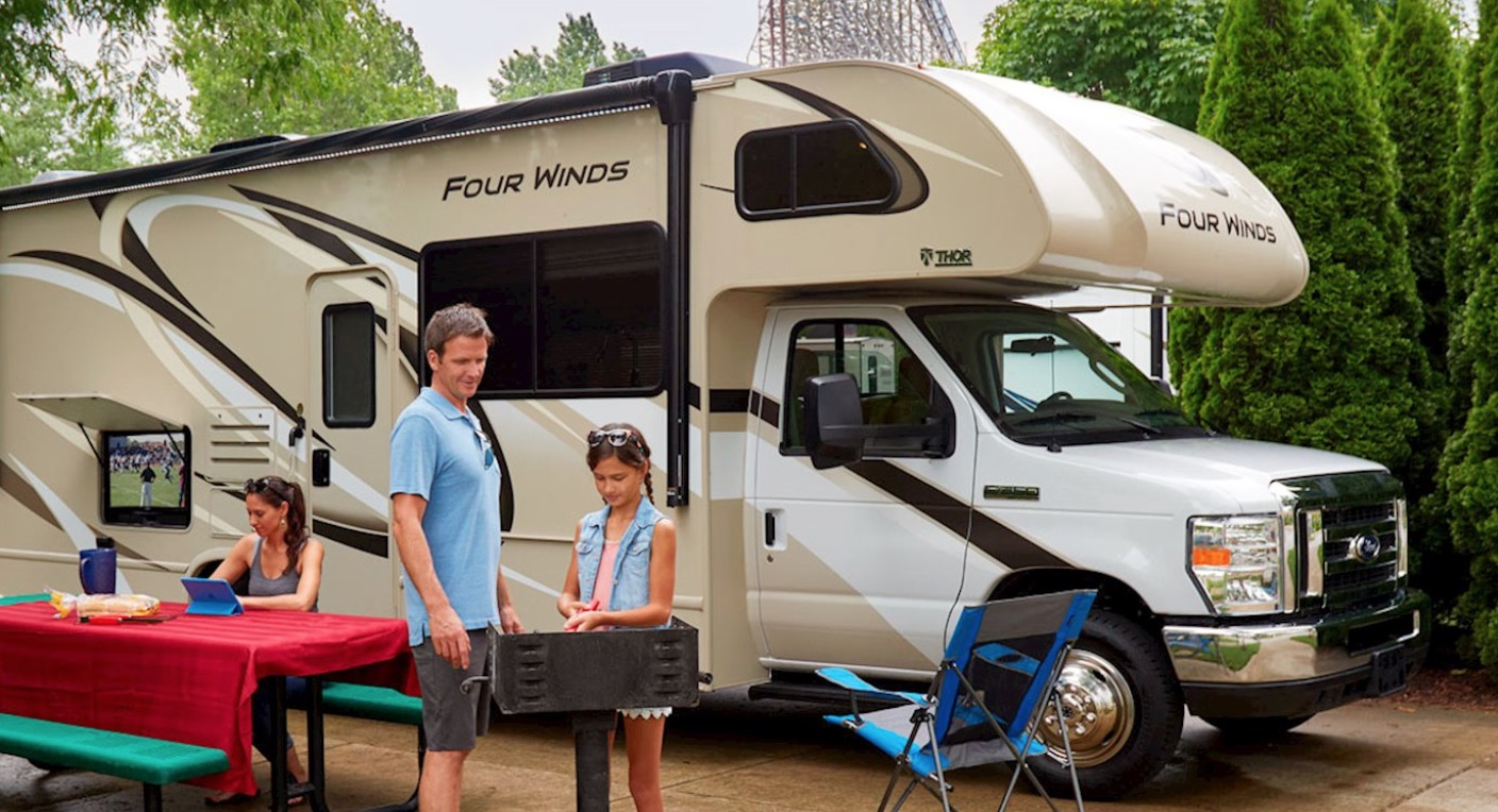 Four Winds Motorhome Reviews Thor Wiring Diagram Motor Coach Class C Review Comfortable