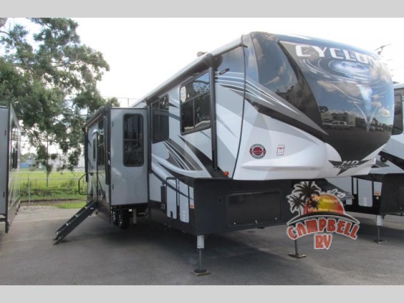 Heartland Cyclone Fifth Wheel Toy Hauler