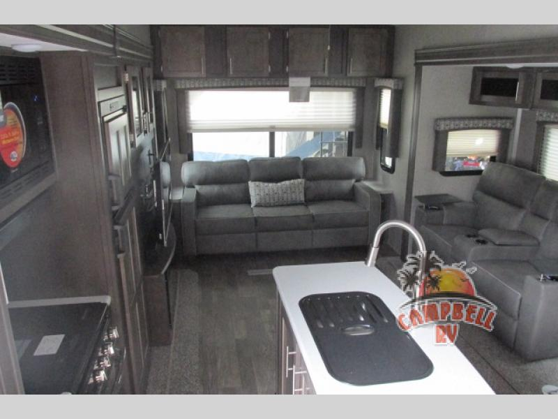 Forest River Flagstaff fifth wheel interior