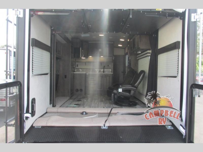 Torque integrated garage