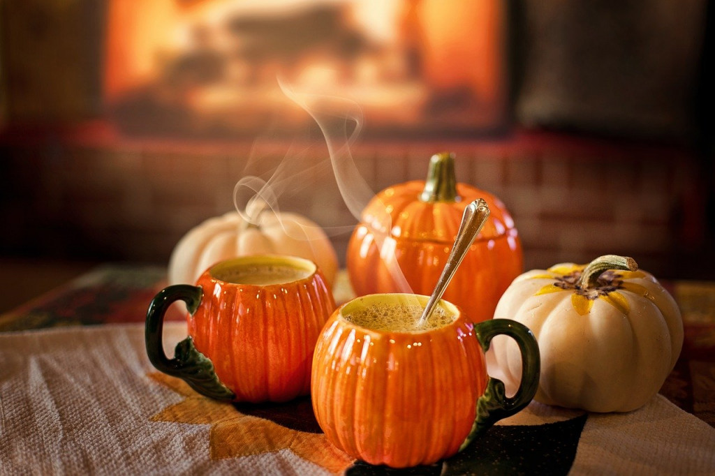 pumpkin spice hot coco