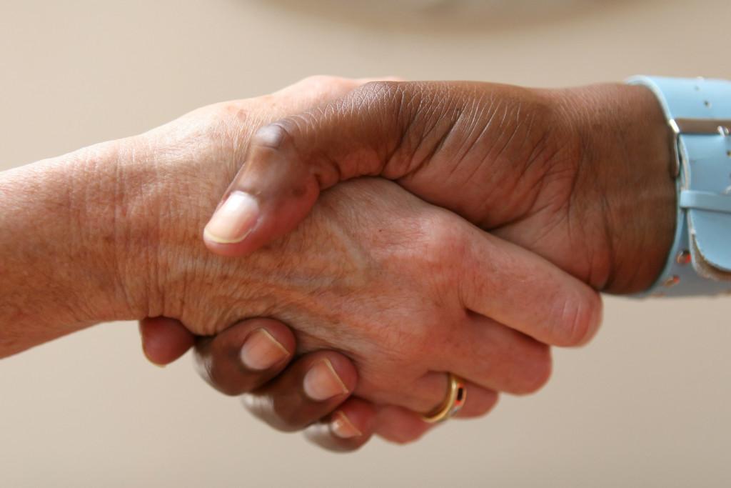 RV Financing Hand Shake Image