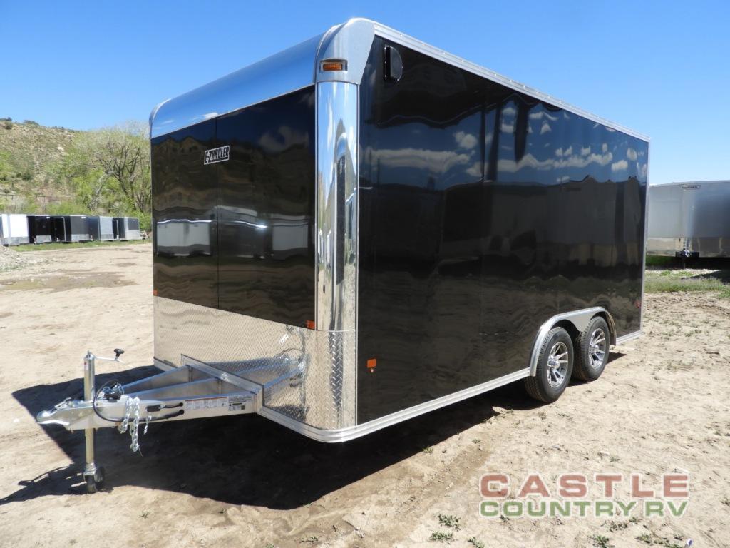 Alcom EZ black cargo trailer for sale