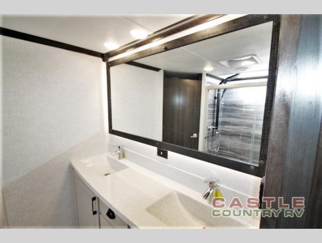 Redwood bathroom