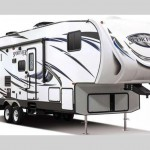 KZ Sportsman Sportster Toy Hauler Fifth Wheel