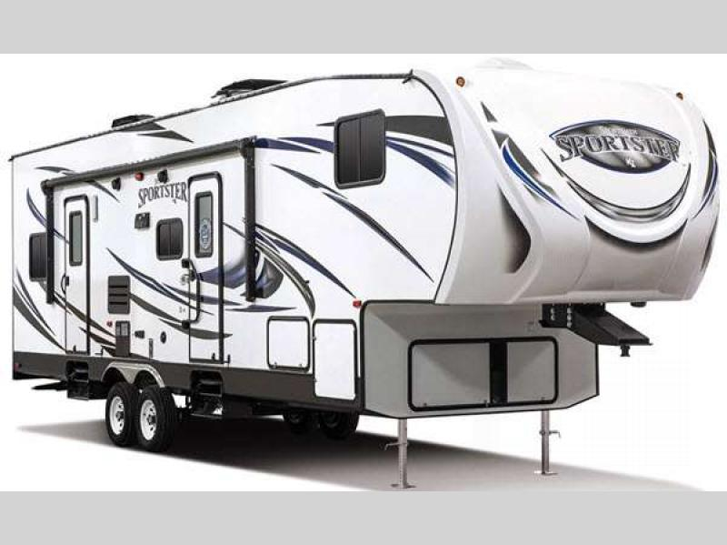 Have More Adventures with the KZ Sportsmen Sportster Toy Hauler