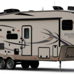 exterior of rockwood signature ultra lite fifth wheel