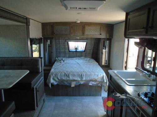 Apex Travel Trailer Interior