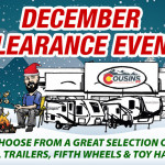 December clearance event