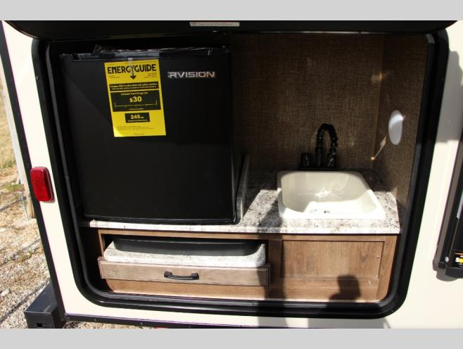 KZ Connect Lite Travel Trailer Outdoor Kitchen