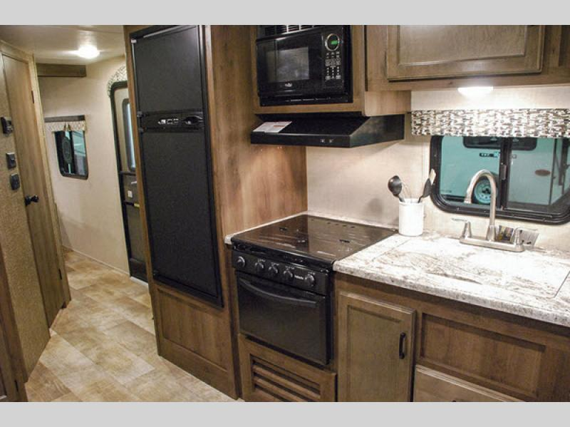 KZ Connect Travel Trailer Kitchen