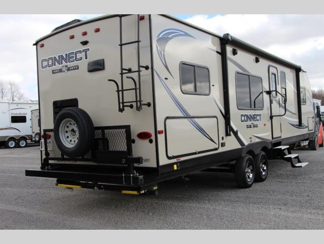KZ Connect Travel Trailer Rear
