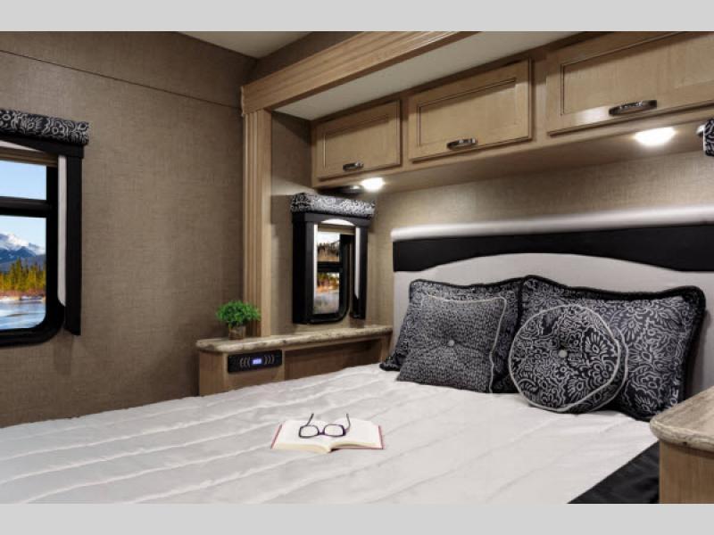 Thor Ace Class A Motorhome Bedroom