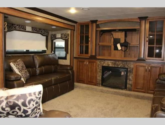 KZ Durango Gold Fifth Wheel Front Living Room