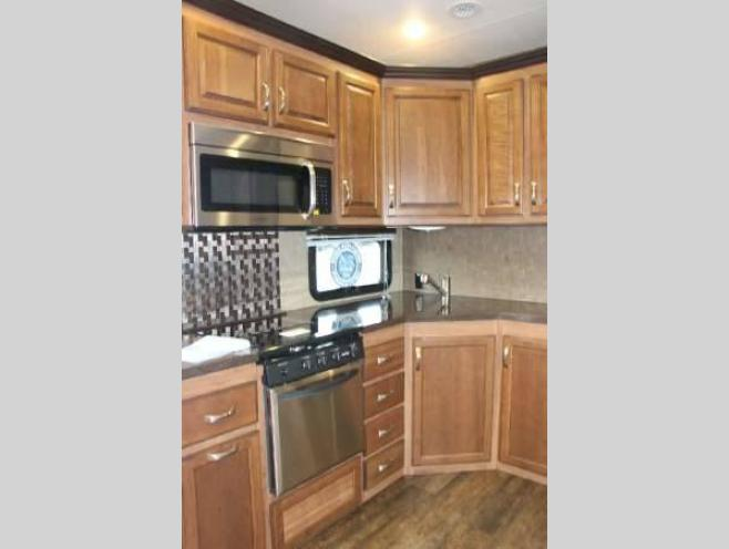 KZ Durango Gold Fifth Wheel Kitchen