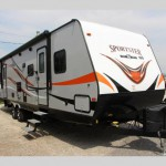 KZ Sportster Toy Hauler Travel Trailer
