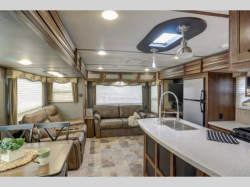 Keystone Sprinter Travel Trailer Interior