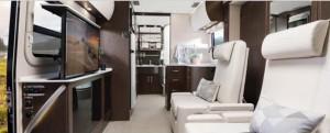 Unity Class B motorhome interior