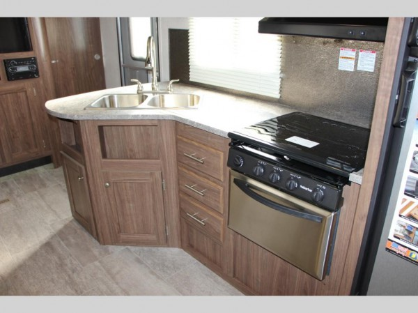 Trail Runner Travel Trailer kitchen