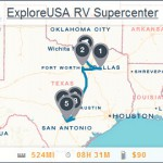 ExploreUSA Locations Map