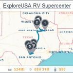ExploreUSA Locations Map