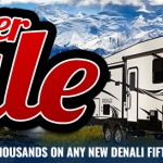 Explore USA RV Denali Sale BIg Banner