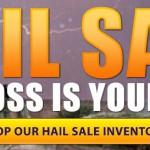 Hail Sale Explore RV
