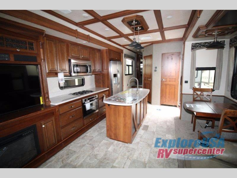 Heartland Bighorn Fifth Wheel Interior Kitchen