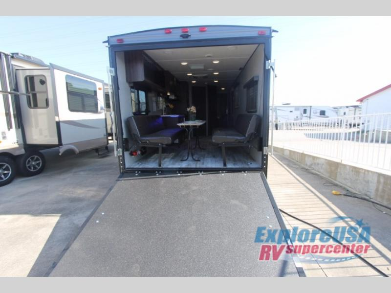 ExploreUSA RV Hail Sale Zinger Toy Hauler