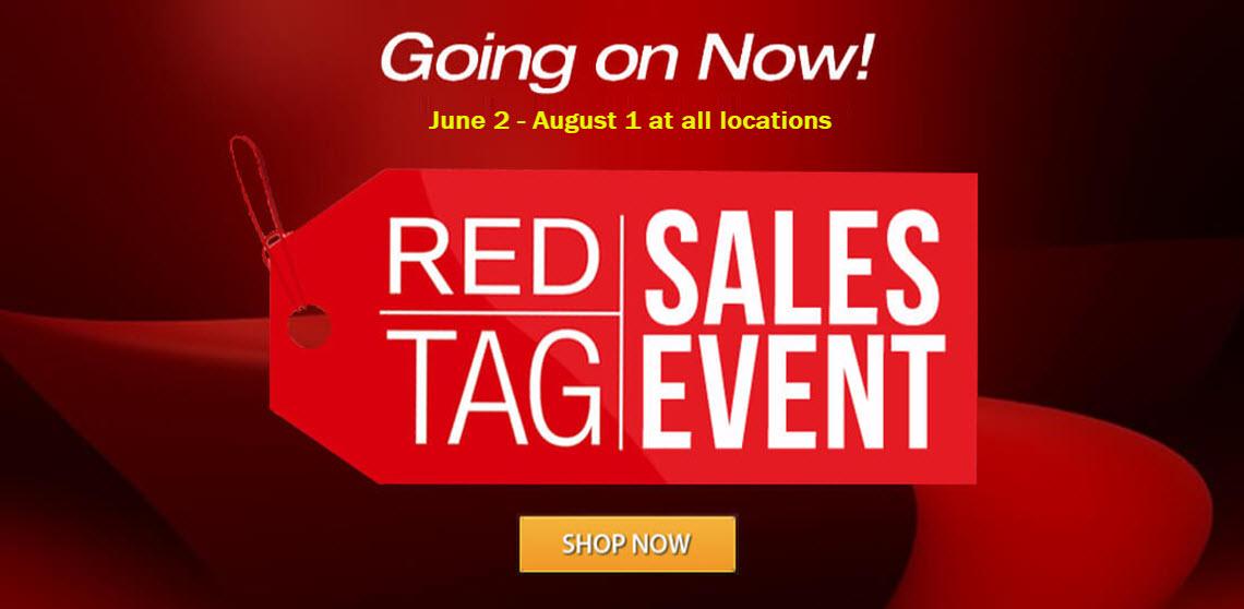 ExploreUSA RV Red Tag Sale