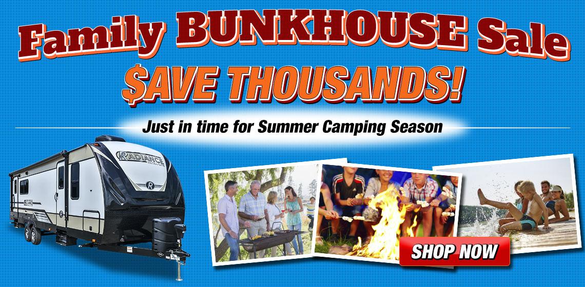 Explore USA RV Bunkhouse RVs