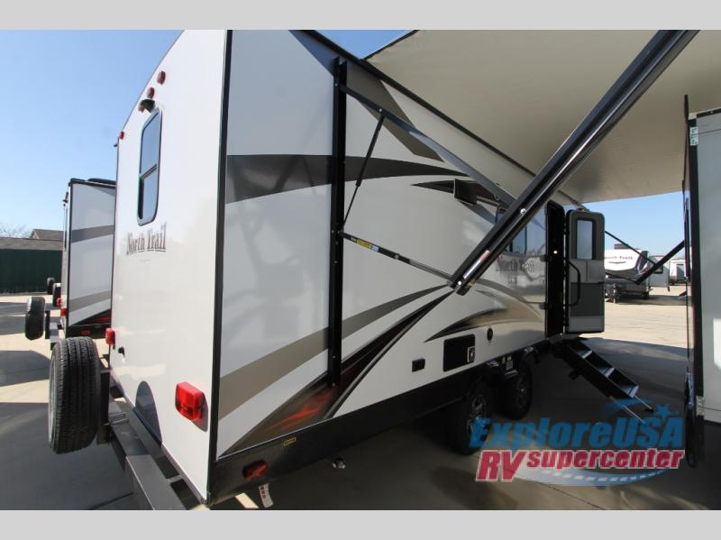 Heartland North Trail Review 22FBS Travel Trailer Rear