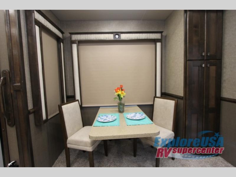 RV Guest House For Christmas ExploreUSA RV Dining Area