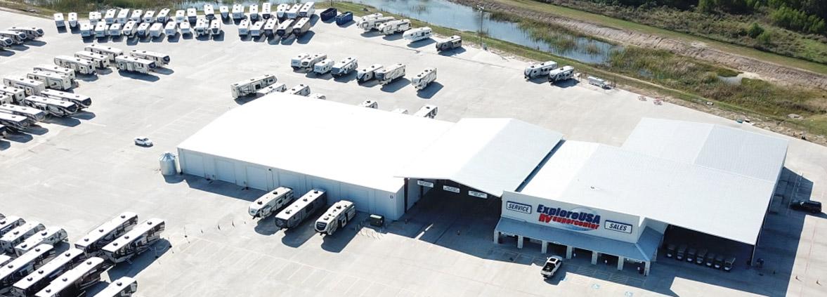 Houston RV Show Deals ExploreUSA RV In Alvin Texas Sales Lot