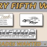 Fifth Wheel Sale