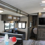 Interior of the 2019 Cruiser RV MPG 2800QB