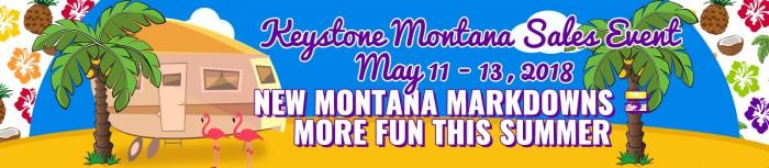 Keystone Montana Sale