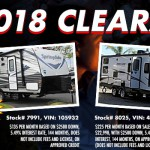 2018 Clearance Sale