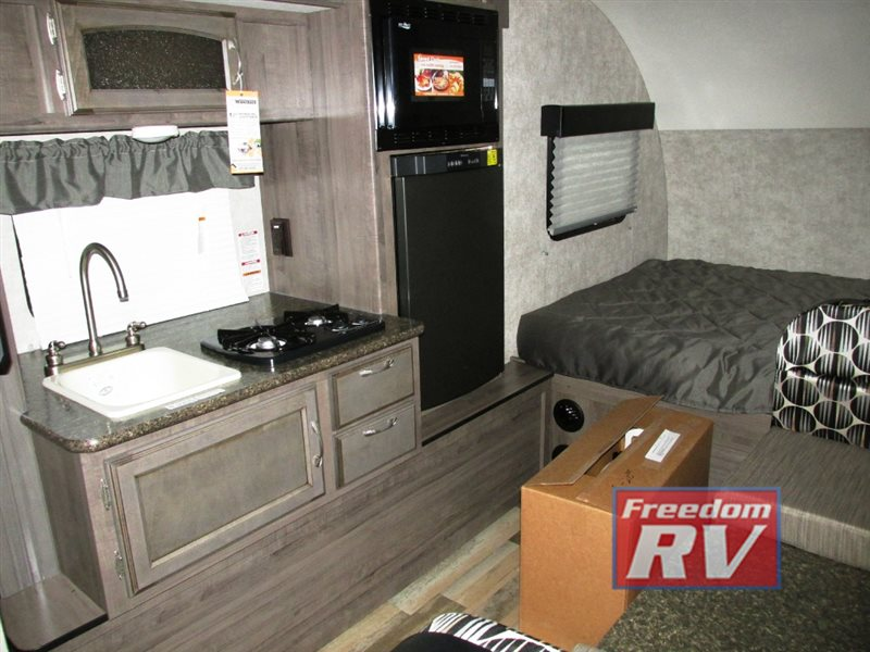 Winnebago Minnie Teardrop Camper Interior