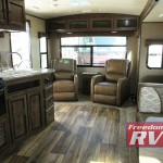 Cruiser MPG Travel Trailer Interior Rear Living