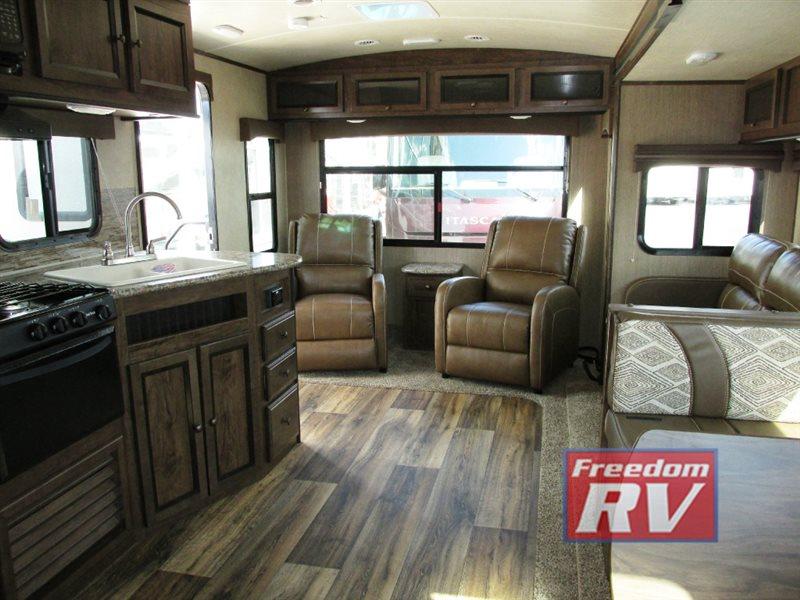 Cruiser MPG Travel Trailer Interior Rear Living