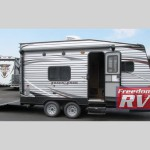 Gulf Stream Track and Trailer Toy Hauler Travel Trailer