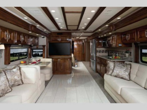 American Dream Motorhome Interior