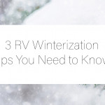 RV Winterization Tips Cover