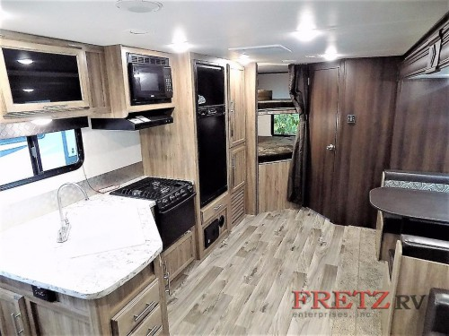 Jayco Jay Feather Travel Trailer Interior