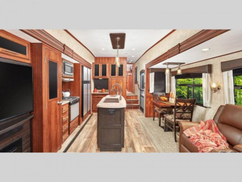 Jayco Eagle Fifth Wheels Interior
