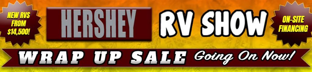 Fretz Hersey RV Show Banner